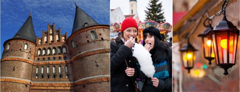 Julmarknaden i Lübeck