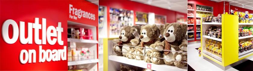 Bilder från Stena Sagas nya butik som är byggd i samma stil