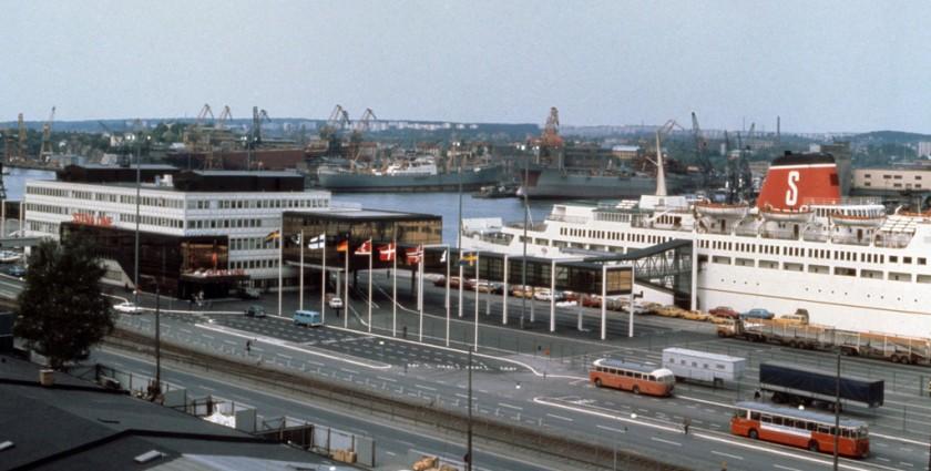 Stenaterminalen 1972