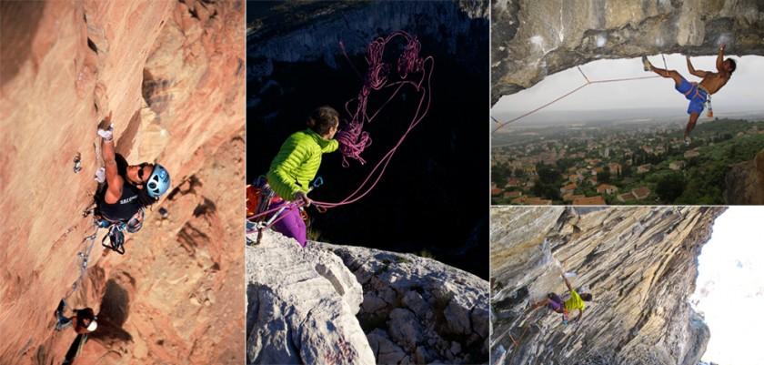 Några av klättringsfavoriterna i Frankrike och Spanien