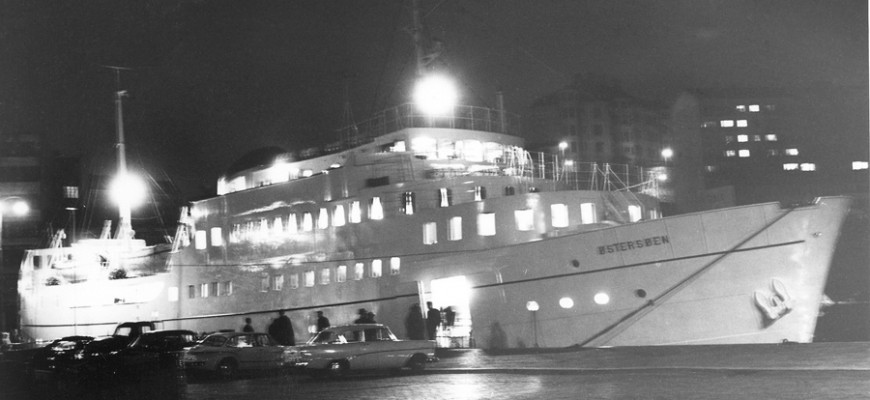 Östersöen vid Stenpiren 19621220