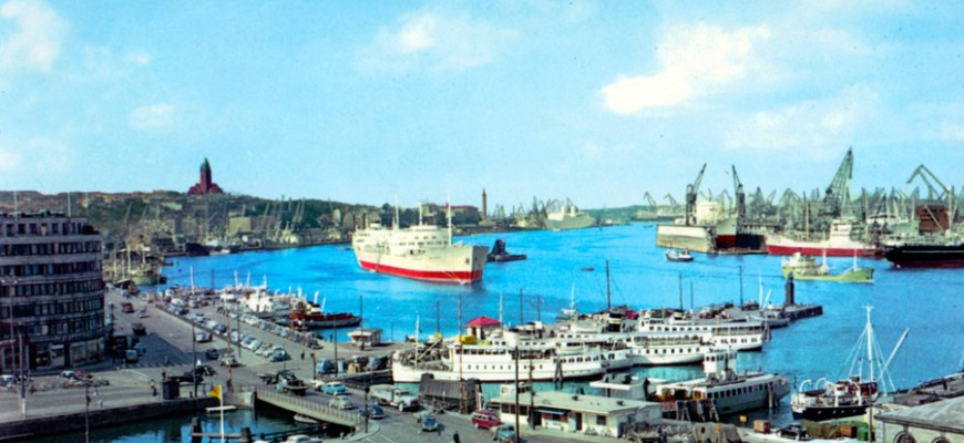 Göteborgs hamn 1962