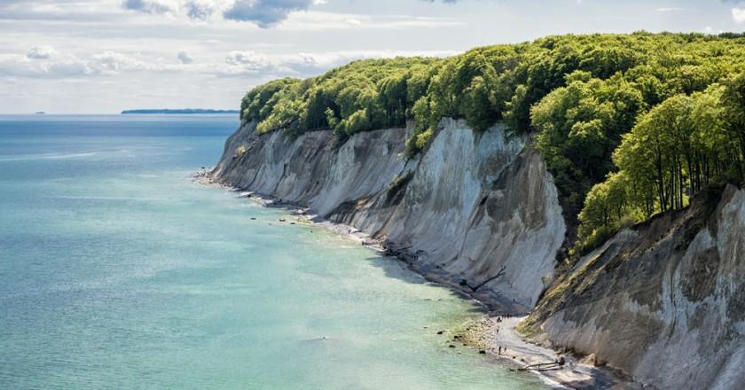 Vackra ön Rügen i norra Tyskland