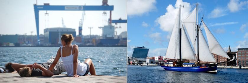 Kiel - staden vid vattnet