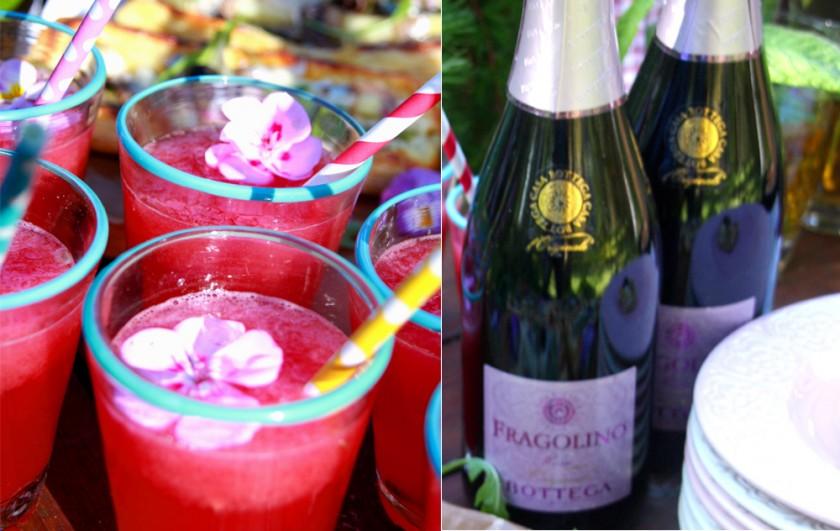 Sunny Summer; drink med Fragolino och melon