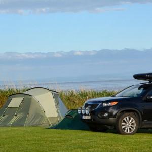 Arran-camping-vårt-tält