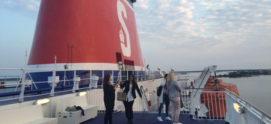 Stena Spirit på väg till Polens Riviera