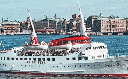 Stena Poseidon i Stockholm 1969