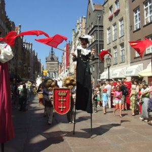 St Dominic's marknad, Gdansk, 29/7-20/8