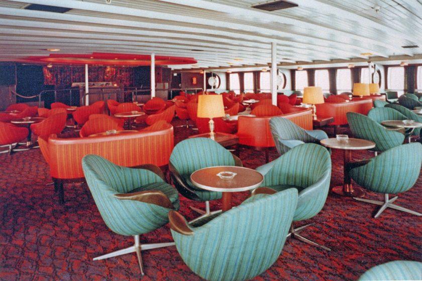 Pub Munchen ombord på Stena Olympica