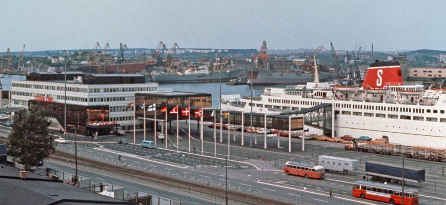 Danmarksterminalen 1972.