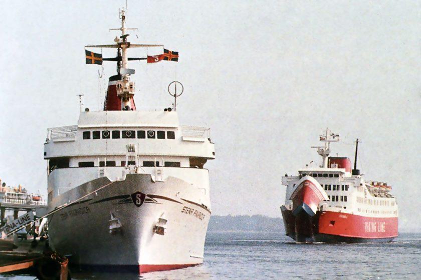 Stena Finlandica i Mariehamns hamn