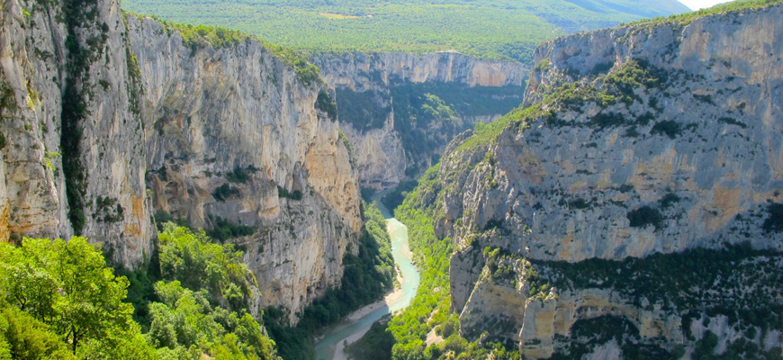 Verdon i franska Provence