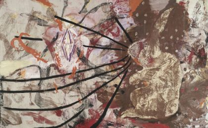 Julian Schnabel Aktion Paintings