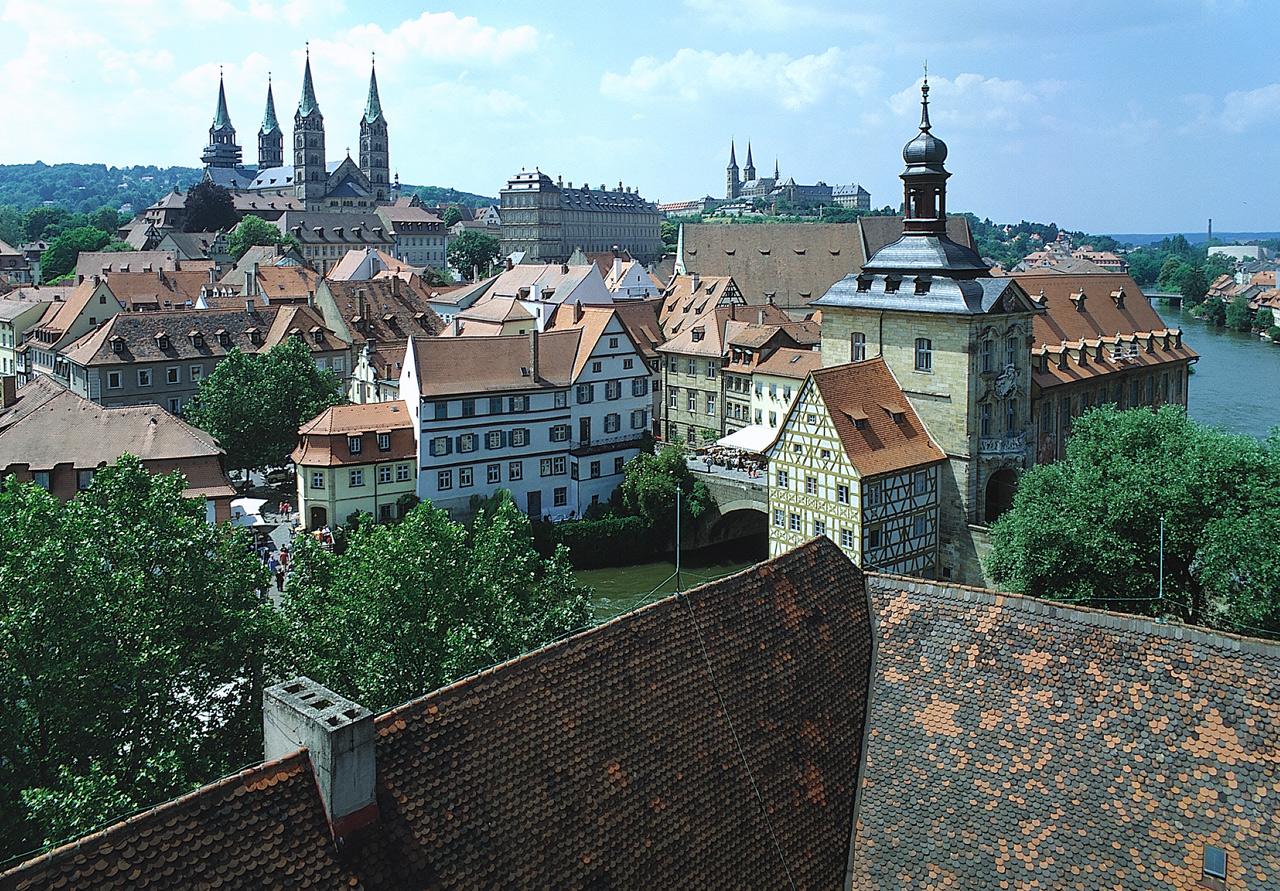 Bayerska pärlor: Nürnberg, Bamberg, Erlangen