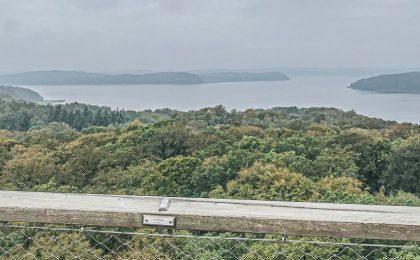Utkiksplats över Rügen