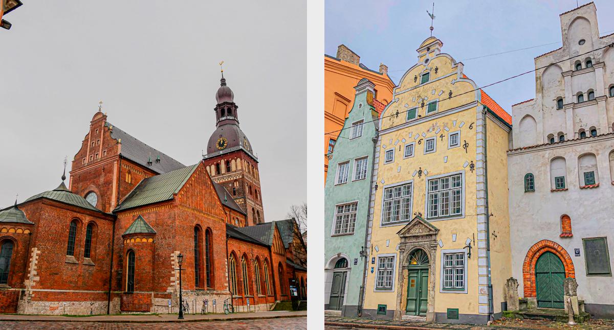 Gamla stan i Riga