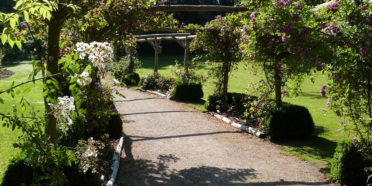 Bangsbo Botaniska trädgård.  Foto: Turisthus Nord