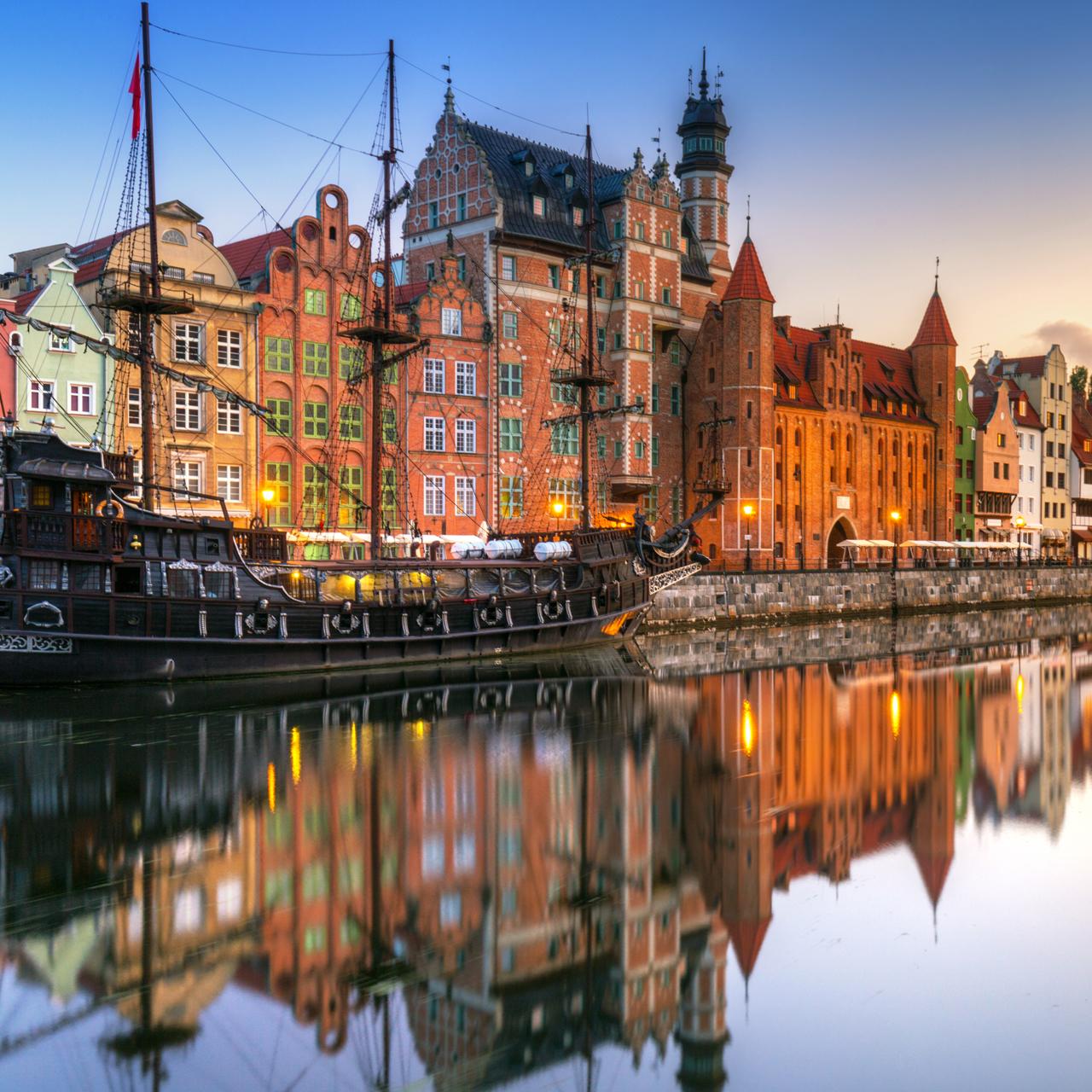 Kanalen i Gdansk