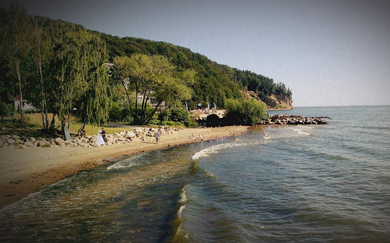 Strand i Polen